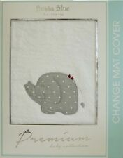 Bubba Blue Embroidered Petit Elephant Design Change Pad Covers