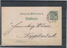 Ungeprüfte Briefmarken-Ganzsachen aus dem altdeutschen Württemberg (bis 1945)