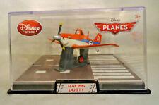 """DISNEY STORE PLANES """"RACING DUSTY"""" DIE CAST AIRPLANE IN DISPLAY CASE"""