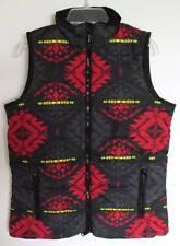Ralph Lauren Womens Black Multi Quilted Vest (XL) NWT