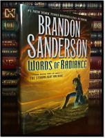 Words of Radiance ✎SIGNED✎ by BRANDON SANDERSON New Stormlight Archive Hardback