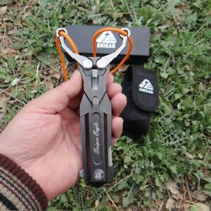 Stainless Steel Folding Knife Slingshot Outdoor Multi-functional Survival EDC