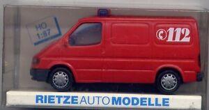 Ford Transit, Feuerwehr für H0 (A-1075)