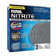 Fluval FX4 FX5 FX6 Nitrite Aquarium Filter Pads (3 Pack)