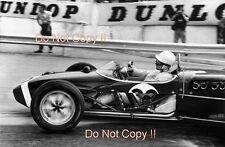 Stirling Moss Lotus 18 Winner Monaco Grand Prix 1961 Photograph 2