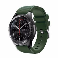 Silicone Bracelet Strap Watch Band 22mm For Samsung Gear S3 Frontier/Classic se