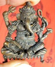 GANESH GANESHA TEMPLE PLAQUE + Ganesh Temple Cloth