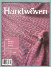 Handwoven magazine nov/dec 1992: moorman, ties, rug, runner