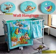 New Baby Boys 11 Pieces Cotton Nursery Bedding Crib Cot Sets-- Blue Ocean