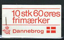 DENMARK 1969 Dannebrog flag booklet Facit HS3, MNH complete, pane inverted
