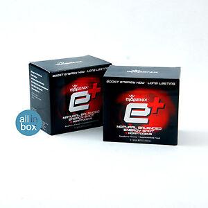 Isagenix Healthy Energy Shots E+ Shot Raspberry 12 bottles ( 2 boxes )