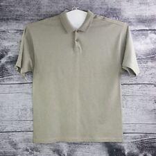 Tommy Bahama Men Sz XL Gray Polo Shirt Short Sleeves 100% Cotton