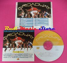 CD LA MEJOR MUSICA DE BROADWAY VOL 5 Compilation no vhs mc dvd(C39)