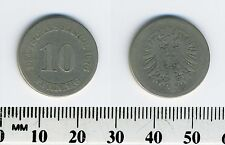 Germany - Empire 1876 A  - 10 Pfennig Copper-Nickel Coin  - Berlin mint