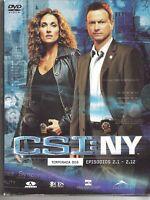 AFM53 - DVD CSI:NY TEMPORADA DOS EPISODIOS 2.1-2.12