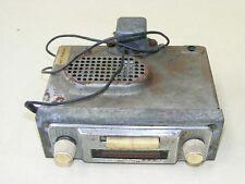 Old Oldtimer Car Radio