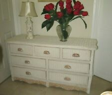 Pier One By Jamaican Collection Dresser seven Drawers White Washed color
