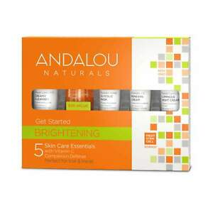 NEW Andalou Naturals - Brightening Get Started Kit