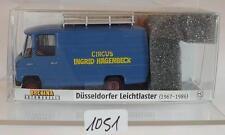 Brekina 1/87 Nr.36809 Mercedes Benz O 309 Circus I.Hagenbeck OVP #1051