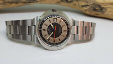USED VINTAGE OMEGA DYNAMIC BLACK & GERY DIAL DATE AUTOMATIC MAN'S WATCH
