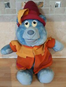 "Vintage Gummi Bears Tummi Plush 1985 16"" SOFT TOY PLUSH"