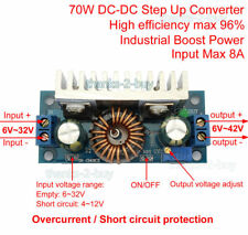 8A DC-DC Converter Step Up Voltage Regulator Module 6V-42V 12V for Solar Battery