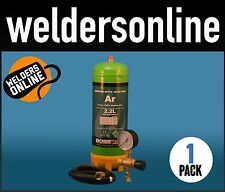 ARGON  Complete Gas Kit-3  Gas Bottle - Regulator - Gas Hose - FREE DELIVERY