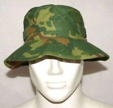 VIETNAM WAR MITCHELL CAMOUFLAGE CAMO BOONIE BUSH HAT MILITARY CAP 56cm