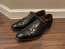 """Allen Edmonds """"PARK AVENUE"""" Cap Toe Men's Oxfords 10 E Black"""