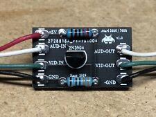 Atari 2600 / 7800 Composite Video / Audio Mod AV Kit - Assembled