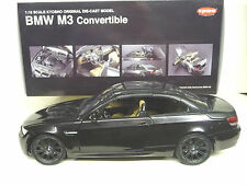 1:18 Kyosho BMW M3 E93 Cabrio ruby black metallic NEU NEW