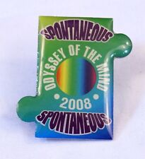 Odessey of the Mind 2008 Pin Spontaneous OM Collectible Pin