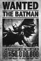 Batman - Origins - Wanted Kino Film - Poster- Größe 61x91,5 cm