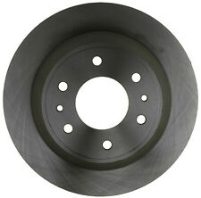 Disc Brake Rotor-Non-Coated Rear ACDelco Advantage 18A1207A