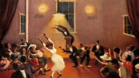 Archibald Motley : Tongues (Holy Rollers) : 1929 : Archival Quality Art Print