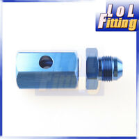 -8 AN 8 AN Fuel Cell Safety Roll Over Vent Valve In Tank Mounted Aluminum Blue