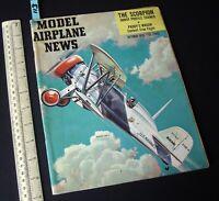1955 Oct Vintage Model Airplane News USA Aeromodelling Hobby Magazine   (113)