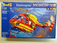 Revell 1:32 Scale Eurocopter Medicopter 117 Model Kit - Sealed - Kit # 04402
