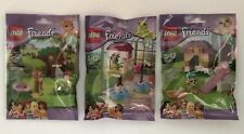 LEGO Friends : Series 3 - Complete Set - (41023, 41024, 41025) - New & Sealed
