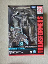 Transformers Studio Series Voyager Mixmaster!