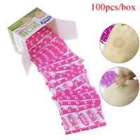 100Pcs / Box # Mini Runde medizinische Einwegklebeband Pflaster Wound.Plaster SV