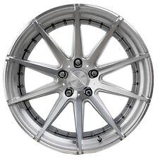 22x9/10.5 Verde Insignia 5x120 +35/35 Silver Rims Wheels Brand New (Set)