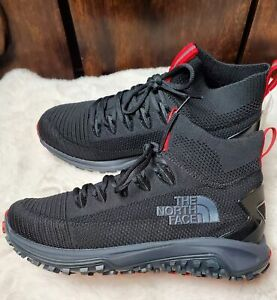 North Face Truxel Mid Black/Grey Hiking Boots/Shoes Men's Size 10 NEW