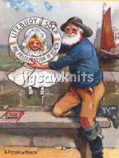 LIFEBUOY SOAP, FISHERMAN + CHILD - ADVERTISING POSTCARD