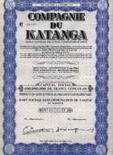 COMPAGNIE du KATANGA