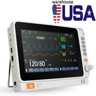 Dental Patient Monitor 10'' Multi-parameter Monitor ICU Built-in Lithium Battery