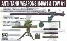 AFV Club 35021 M40A1 Recoilless Rifle & TOW Anti-Tank 1/35 Scale Model Kit