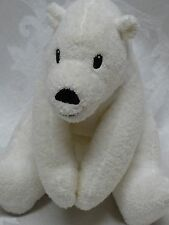 Little Tiger Press Big Little Bear Plush Animal Toy London England 2002 Polar