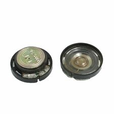 20mm Magnetic Type Round Plastic Shell Speaker 8 Ohm 0.25W 2 pcs ED
