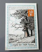 ITZEHOE NOTGELD 50 PFENNIG 1921 EMERGENCY MONEY GERMANY BANKNOTE (10266)